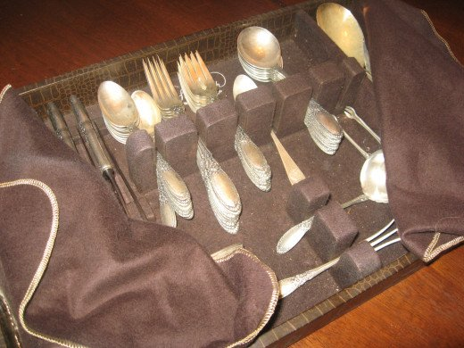 """My flatware is stamped """"Towle Sterling."""""""