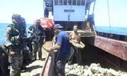 Chinese fishing busted