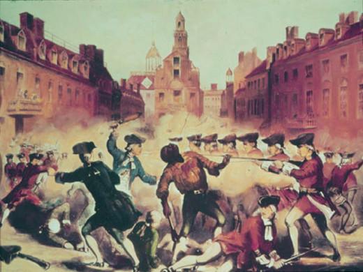 Crispus Attucks, first fallen in the Boston Massacre.