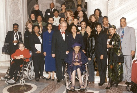 The descendants of Thomas Jefferson and Sally Hemings.