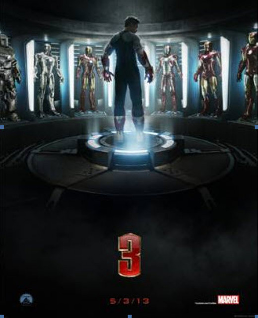 Theatrical poster for Iron Man 3 (2013)
