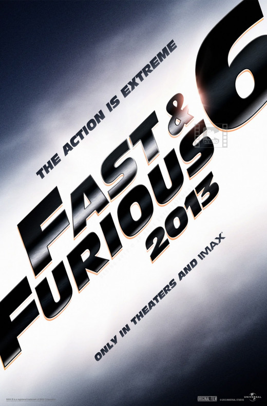Teaser poster for Fast and Furious 6 (2013)