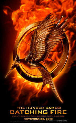 Teaser poster for The Hunger Games: Catching Fire (2013)