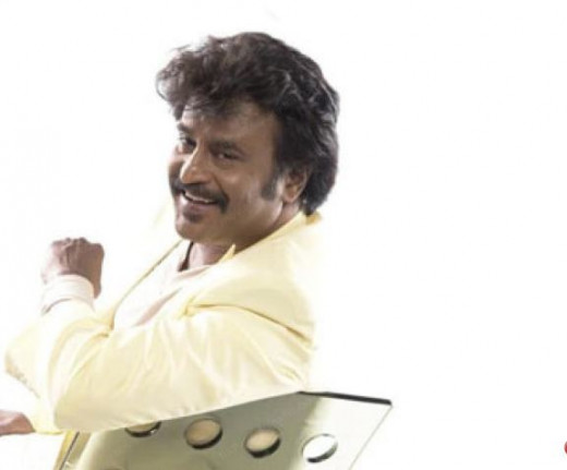 Superstar Rajnikanth with his Lovely Smile
