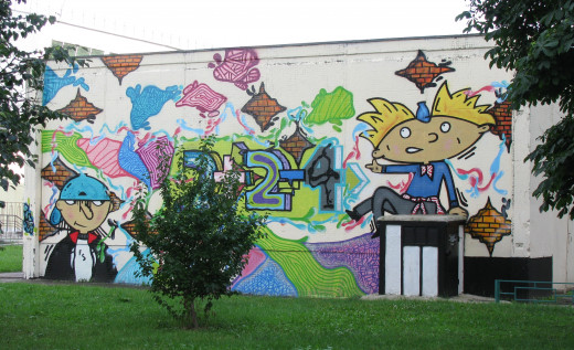 Hey Arnold Wall Art.