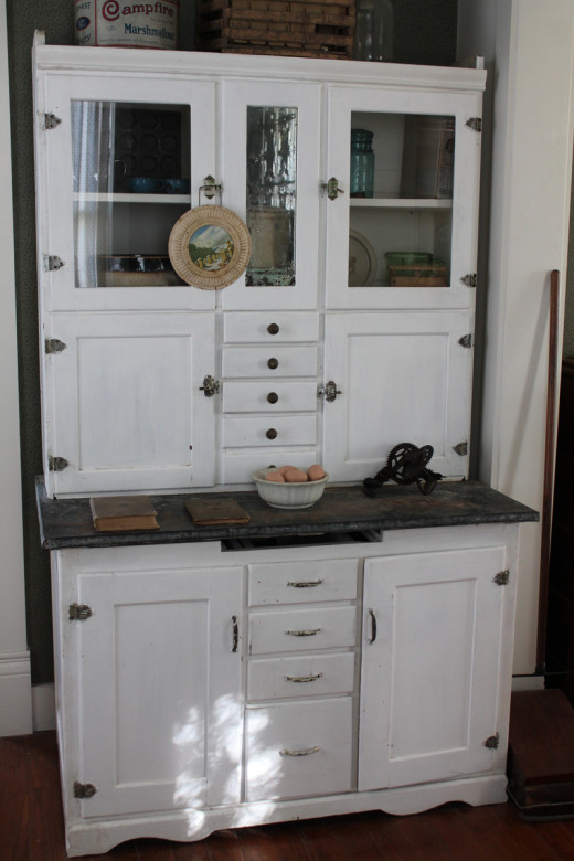Old Vintage Kitchen Cabinet