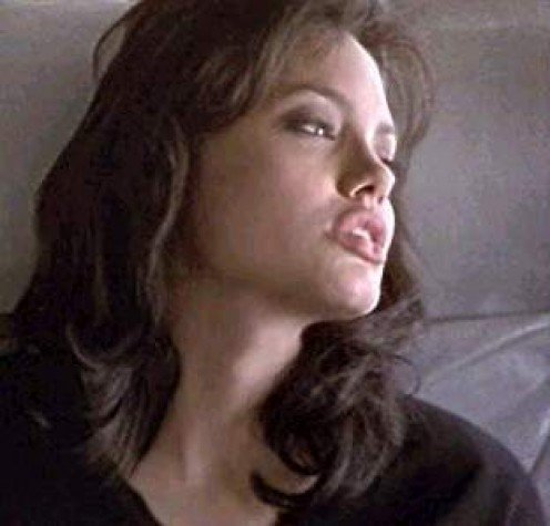 "Angelina Jolie as ""Gia"""