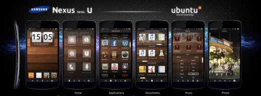 Ubuntu OS Smartphone concept art