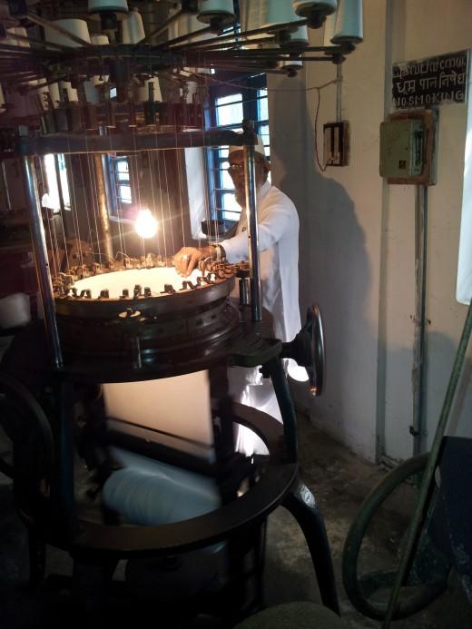 T-Shirt Weaving Machine - Kalpeni Island