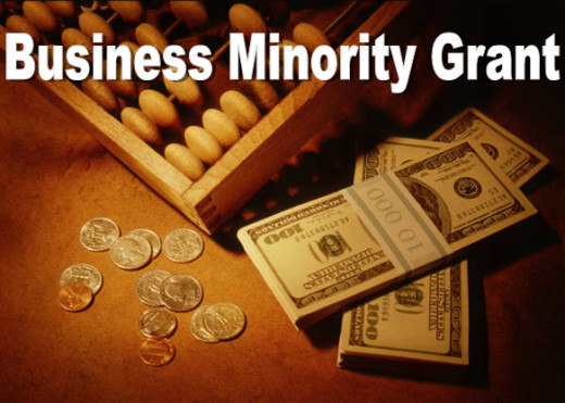 While a business grant for minorities sounds good, unfortunately, there are not many, if any, to be found.