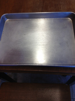 All meals are served on tin trays, just like the cowboys enjoy on the range.