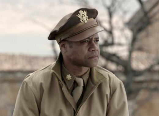 Cuba Gooding Jr. stars as Major Stance in the drama Red Tails, which was executive produced by George Lucas.