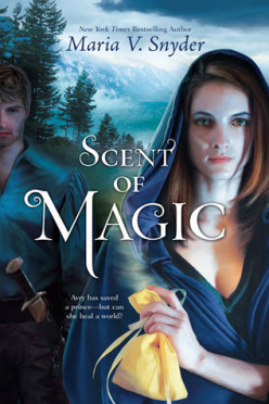 Book Review - SCENT OF MAGIC by Maria V. Snyder