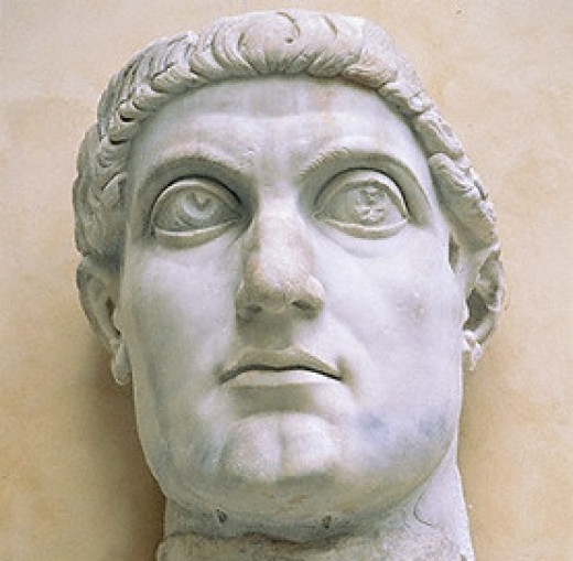 Constantine I, the Great, who made Rome safe for Christianity