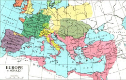 Europe in 600 CE