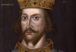 King Henry II of England, founder of the Plantagenet dynasty of England