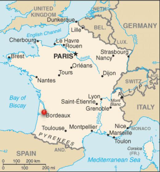 Where is Bordeaux?