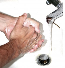 One of the most common compulsions of OCD sufferers is overly frequent hand washing.