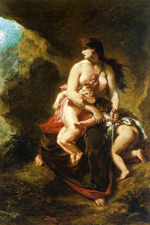 Delacroix, Medea.
