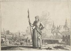 Kenau Hasselaer during the Siege of Haarlem