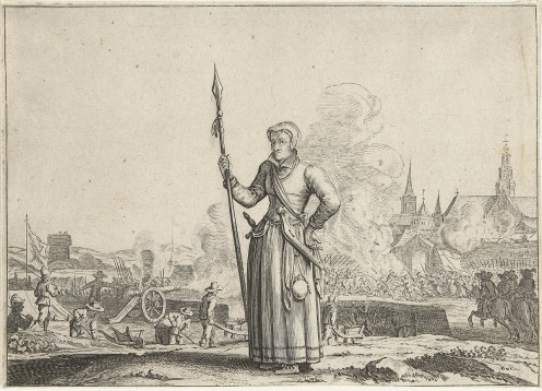 Kenau Hasselaer during the Siege of Haarlem