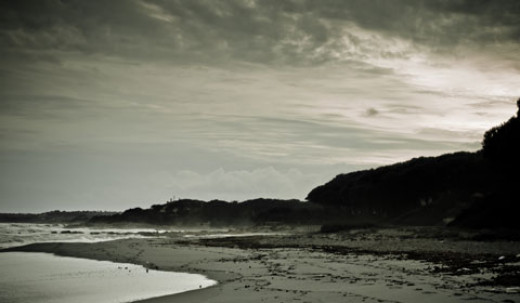 Dumas Beach Surat, Gujarat.