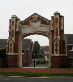 Ascham St Vincent Memorial Arch, Carlisle Road, Eastbourne