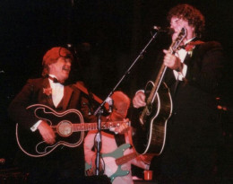 Everly Brothers in concert at Central City, Kentucky