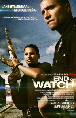 Quick Thoughts on End of Watch (2012)