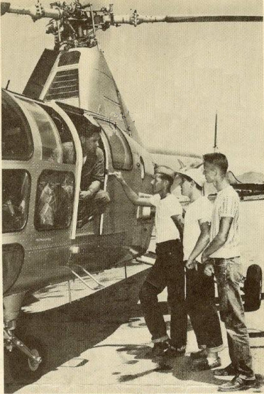 H-5 Dragonfly, Air Rescue Service