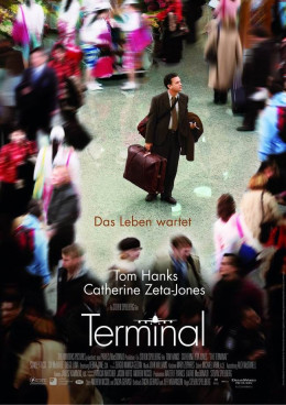 The Terminal (2004) Swedish poster