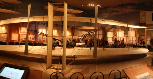 The original 1903 Wright  Flyer is located in the Smithsonian Museum