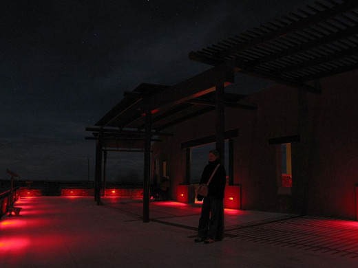 Marfa Lights observation deck