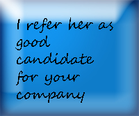 Find a great professional reference who will say all the good things about you.