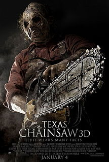 Theatrical poster for Texas Chainsaw (2013)