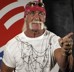 Hulk Hogan at the MCI Center in Washington D.C. in 2005