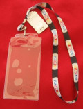 Nascar lanyard - credential holder for pit pass