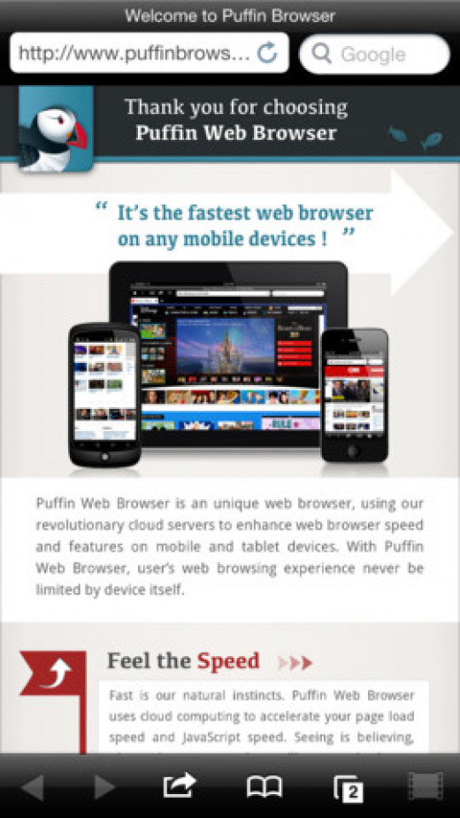 Puffin Web Browser for iPad