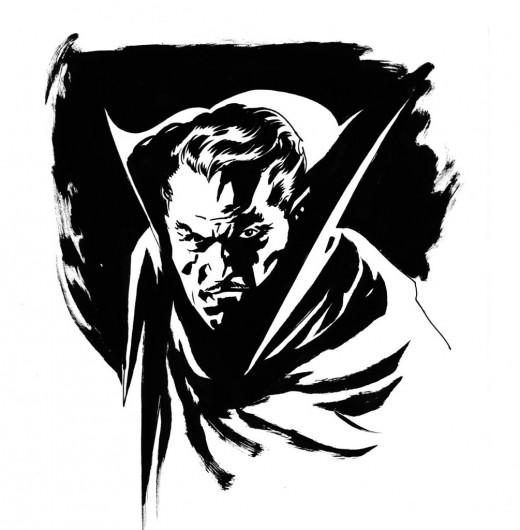 A typical interpretation of Dracula. Unlike the Blade Trinity version.
