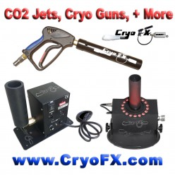 The many names of a CO2 Jet - Cryo Cannon