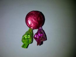 A celebration pin.