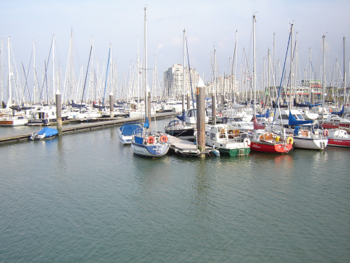 Breskens marina, The Netherlands