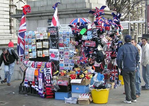 London Souvenir Stall