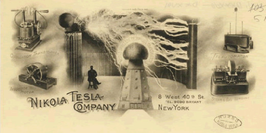 Tesla envisaged a wireless electrical age where all means of powering and transport ran on electrical energy beamed wirelessly from source to receiver.