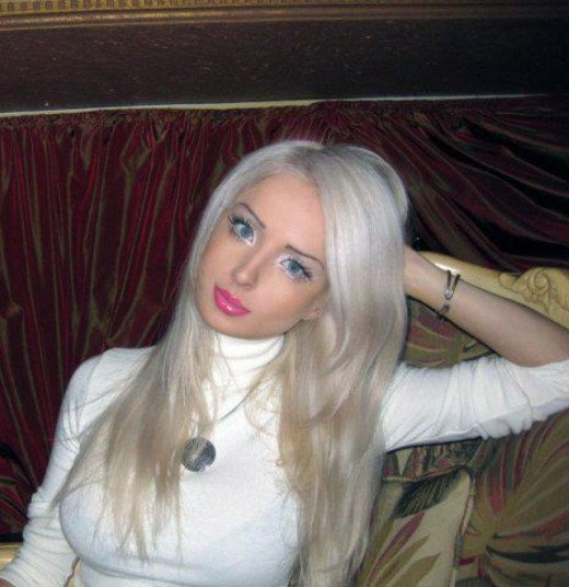Valeriya Lukyanova is a Ukrainian model and singer.