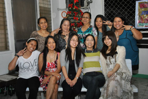 my international clan's christmas 2012