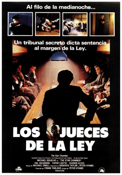 The Star Chamber (1983) Spanish poster
