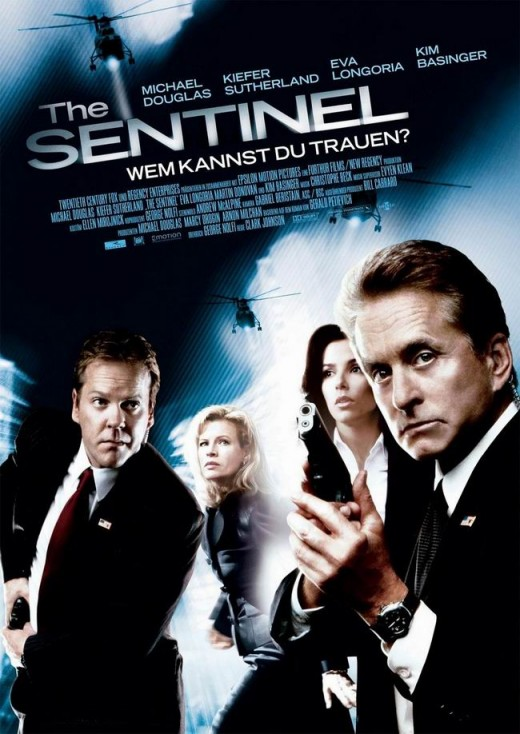 The Sentinel (2006) German poster