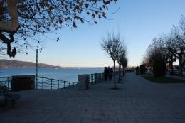 Arona Lake Promenade, Lago Maggiore, Italy