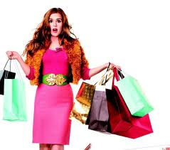 """Shopping has become a """"sport"""" for a lot of people."""